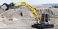 Menzi tracked excavators