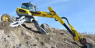 Menzi Muck walking excavators